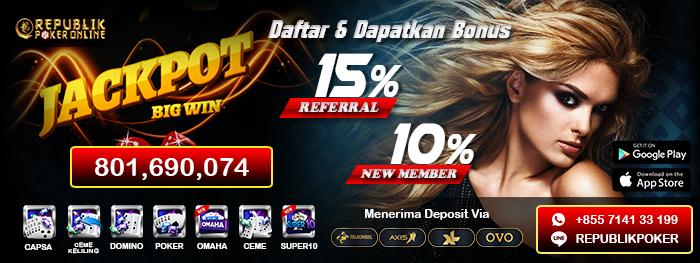 Agen Idn Poker Terpercaya Republik Poker Group